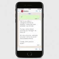 fatura Bradescard pelo Whatsapp
